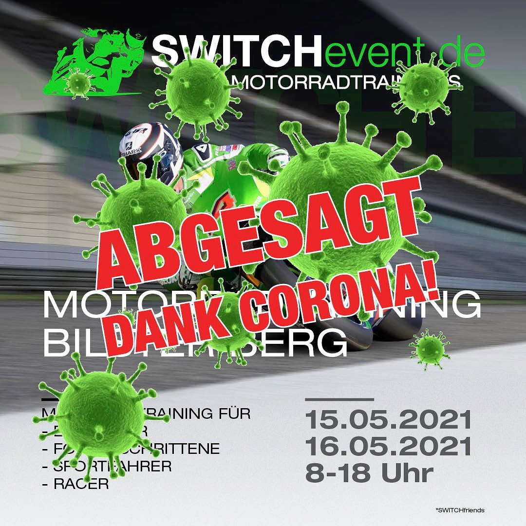 Photo by SWITCHevent Motorradtrainings in Bilster Berg Drive Resort GmbH & Co. May be an image of text.